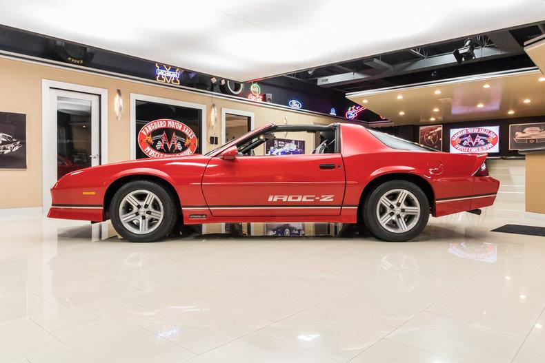 1989 Chevrolet Camaro Iroc Z28 For Sale 78515 Mcg