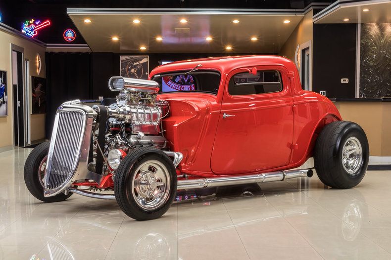 1934 Ford 3-Window