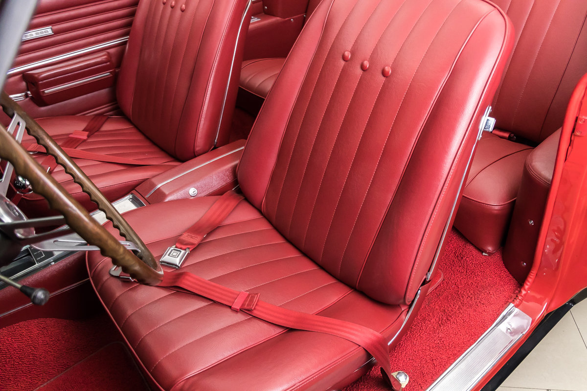 1968 Chevrolet Chevelle Ss Convertible For Sale 80526 Mcg Chevy Seat Belt