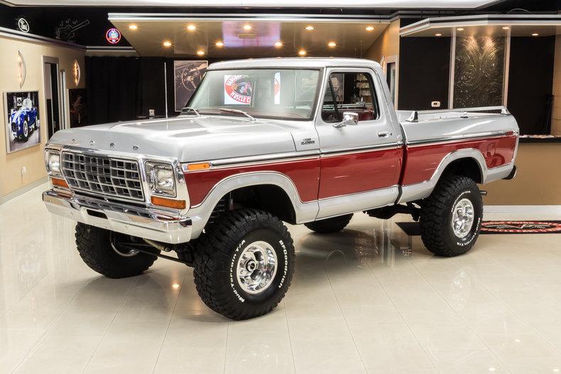 1979 ford f150 ranger 4x4 pickup for sale 82652 mcg. Black Bedroom Furniture Sets. Home Design Ideas