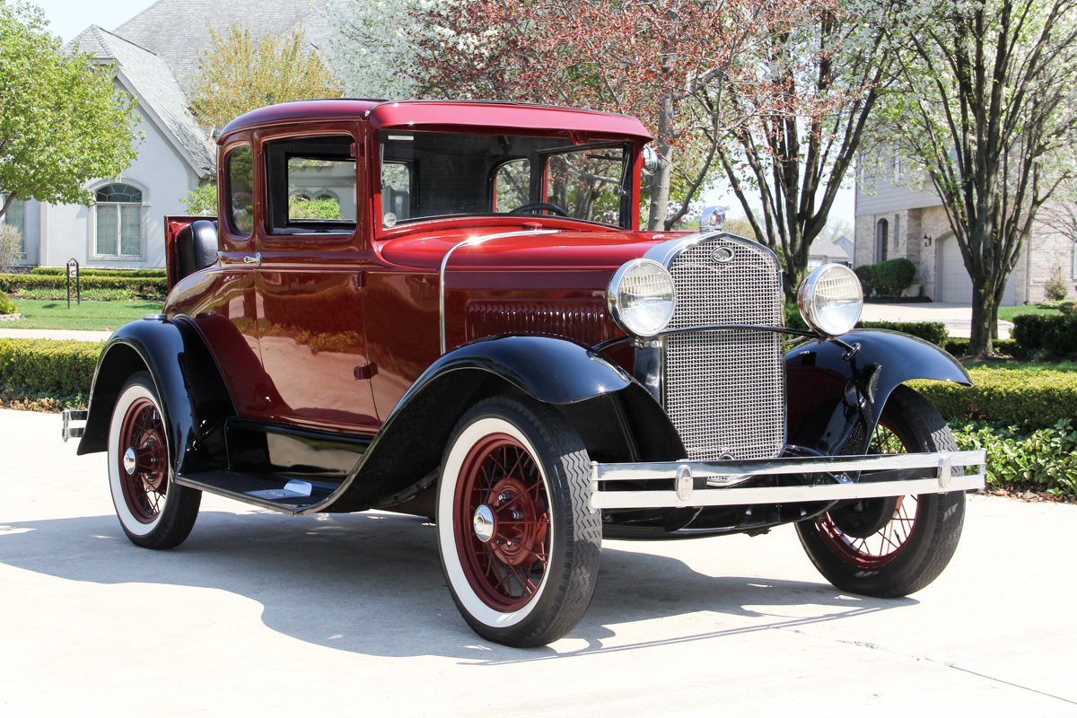 214519 1931 ford model a  maroon 972117