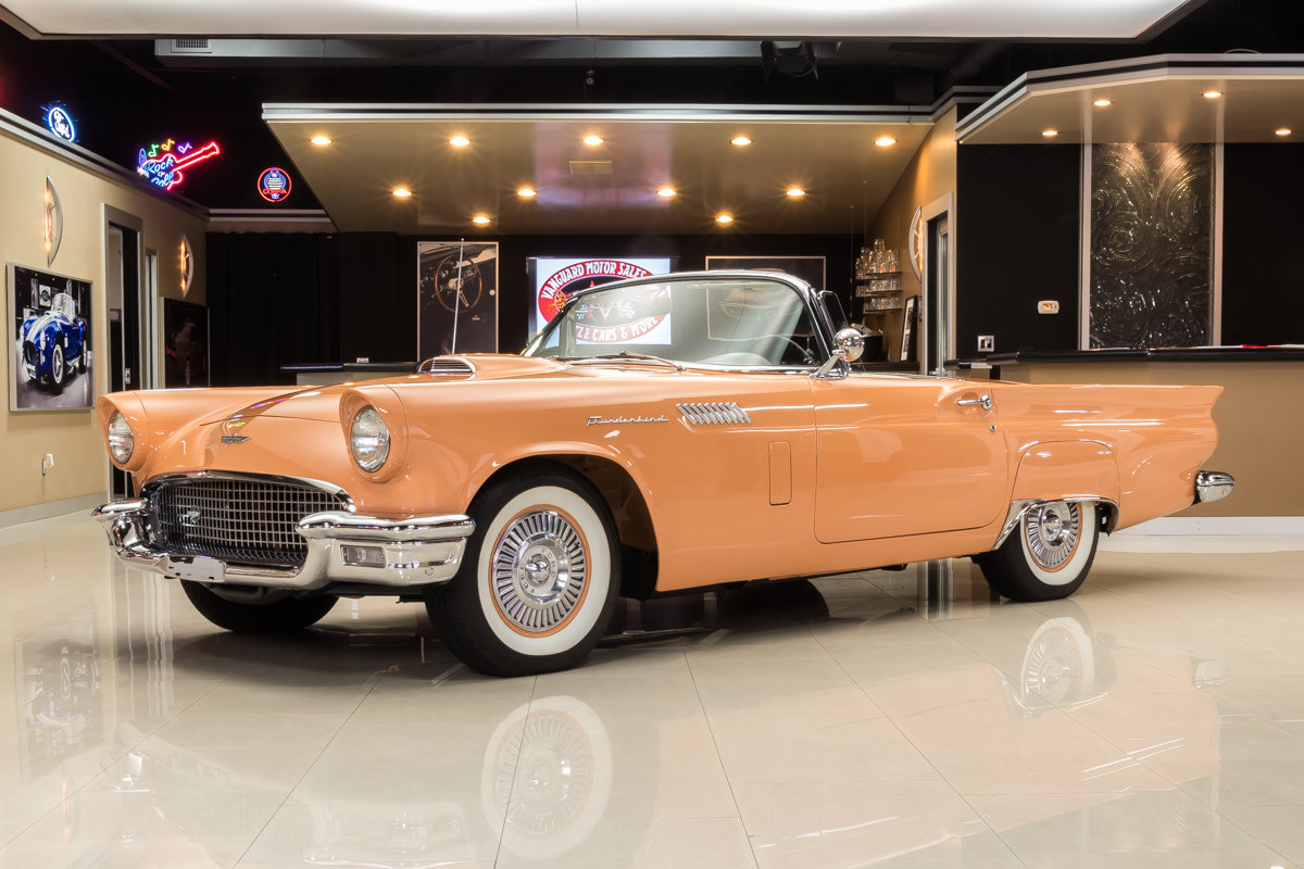 1957 Ford Thunderbird Classic Cars For Sale Michigan Muscle Old 1970 2 Door