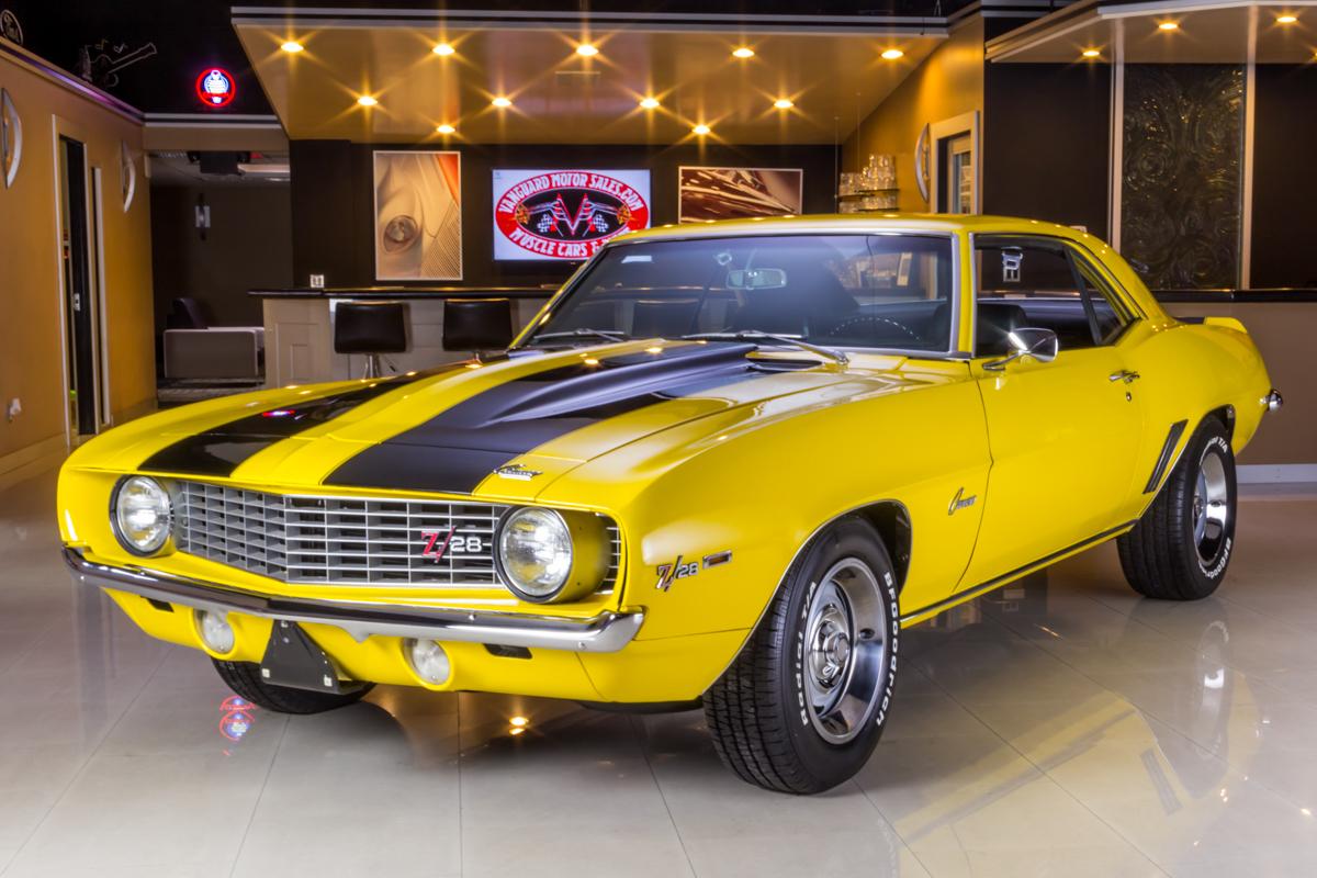 275539 1969 camaro  yellow 3049119