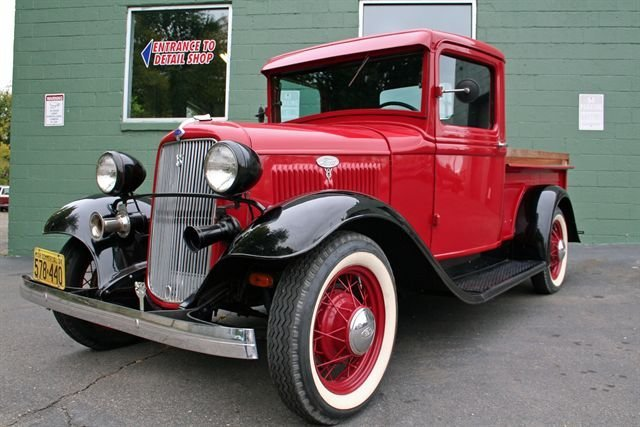 1934 Ford Pickup Vanguard Motor Sales