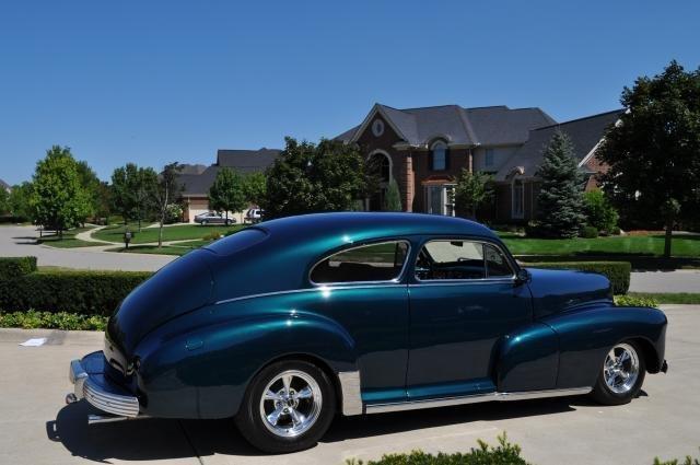 1947 Chevrolet Fleetline Vanguard Motor Sales