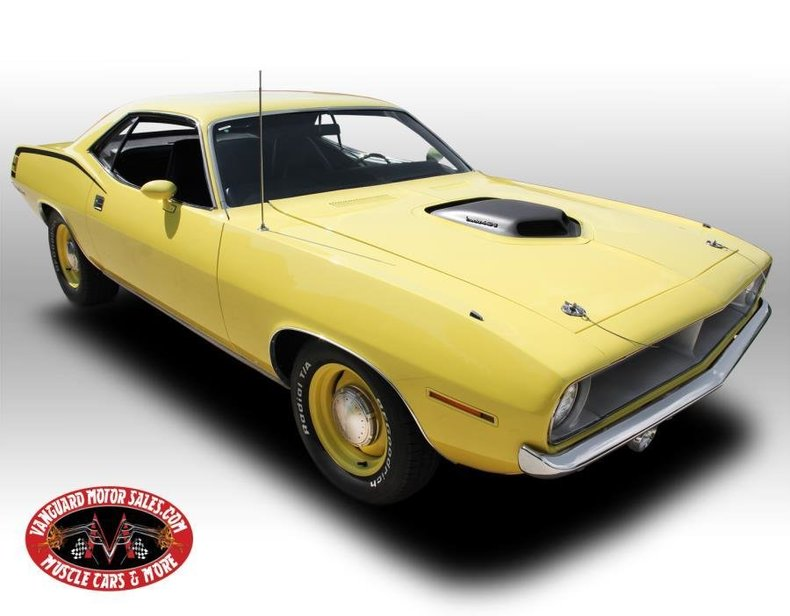 1970 Plymouth Cuda | Vanguard Motor Sales