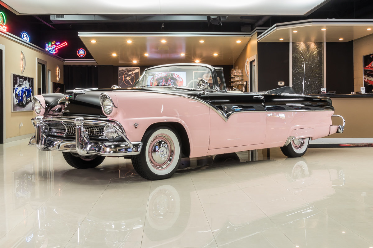697267d5e04e59 hd 1955 ford fairlane convertible