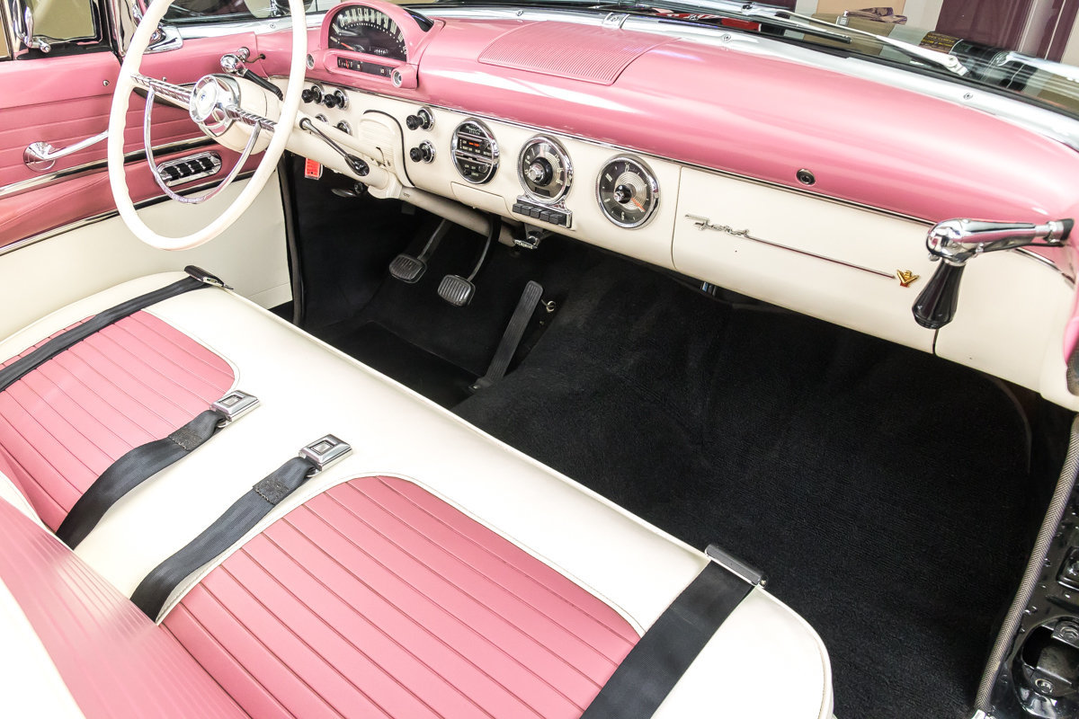 1955 Ford Fairlane Convertible For Sale 100178 Mcg Car Seat Belts