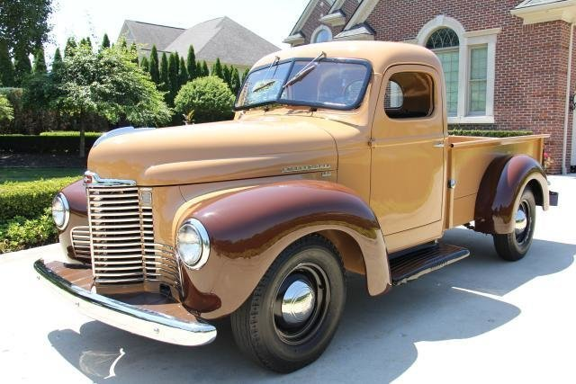 1949 International Pickup Vanguard Motor Sales