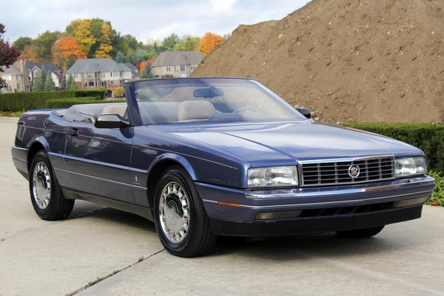 1993 cadillac allante classic cars for sale michigan. Black Bedroom Furniture Sets. Home Design Ideas