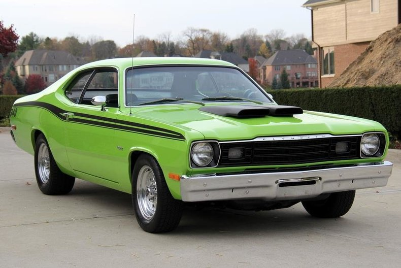 Vin Number Indian Cars >> 1973 Plymouth Duster | Classic Cars for Sale Michigan: Muscle & Old Cars | Vanguard Motor Sales