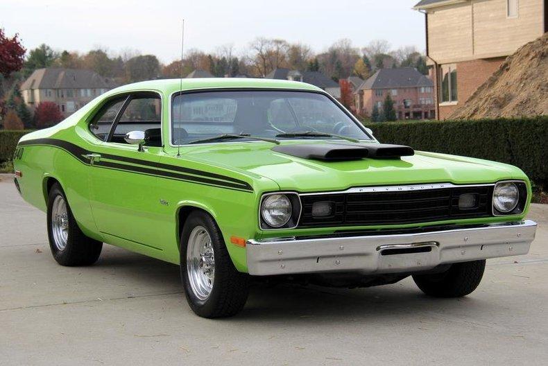 1973 Plymouth Duster Vanguard Motor Sales