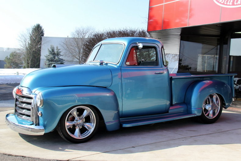 1953 Gmc 5 Window Pickup My Classic Garage
