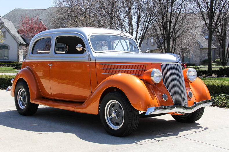 1936 Ford Sedan Classic Cars For Sale Michigan Muscle Old Cars