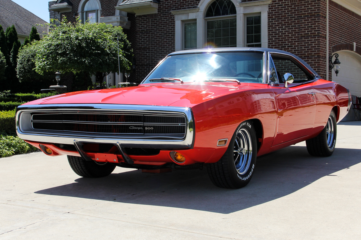 233664 1970 charger  red  5279160