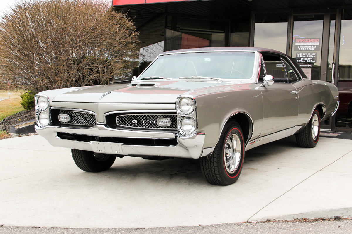 1967 Pontiac Gto Classic Cars For Sale Michigan Muscle Old Tach Wiring Diagram 204803 Silver 887813