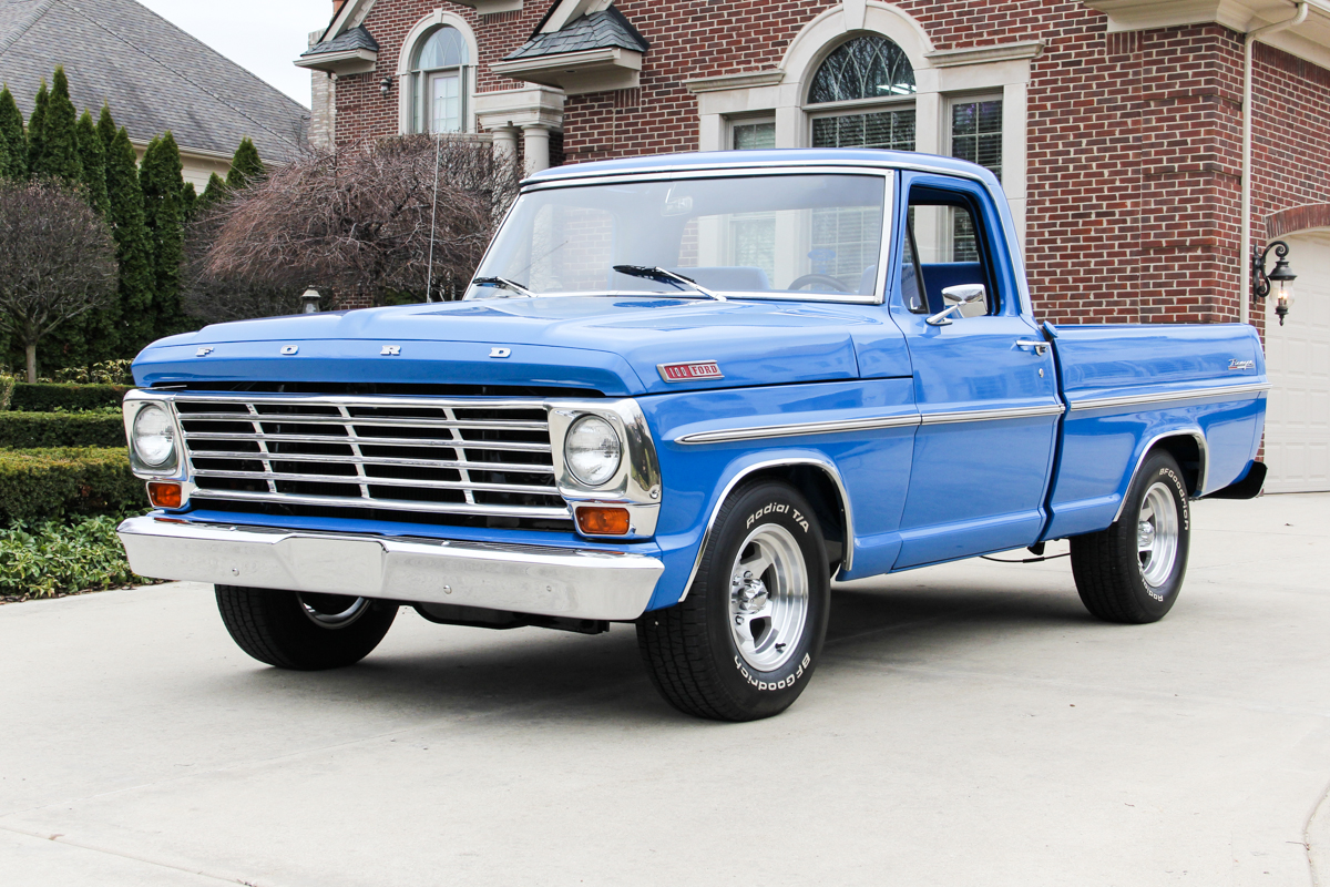 1967 Ford F100 Classic Cars For Sale Michigan Muscle Old 1971 Short Bed Beautifully Restored Truck 302ci V8 5 Speed Underside Is Painted Body Color Ranger Pickup