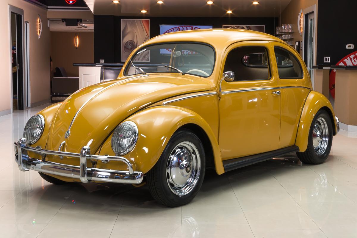 295231 1956 vw beetle  yellow 0343 rs1
