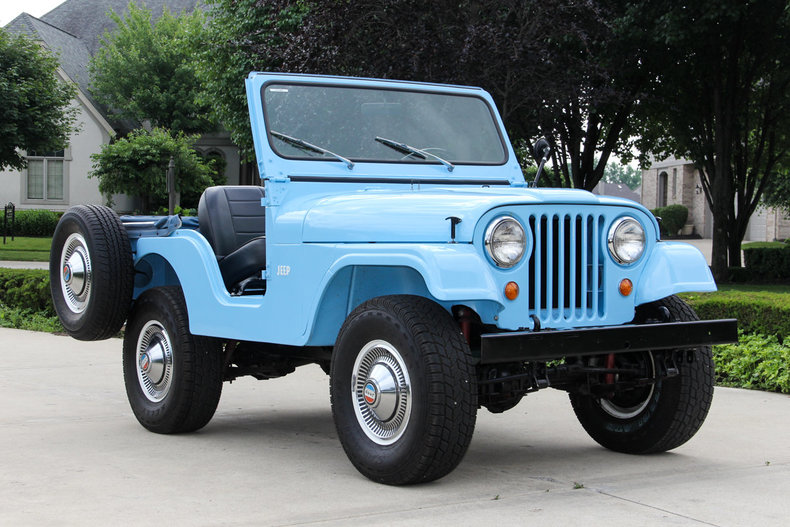 1960 Jeep Cj Vanguard Motor Sales