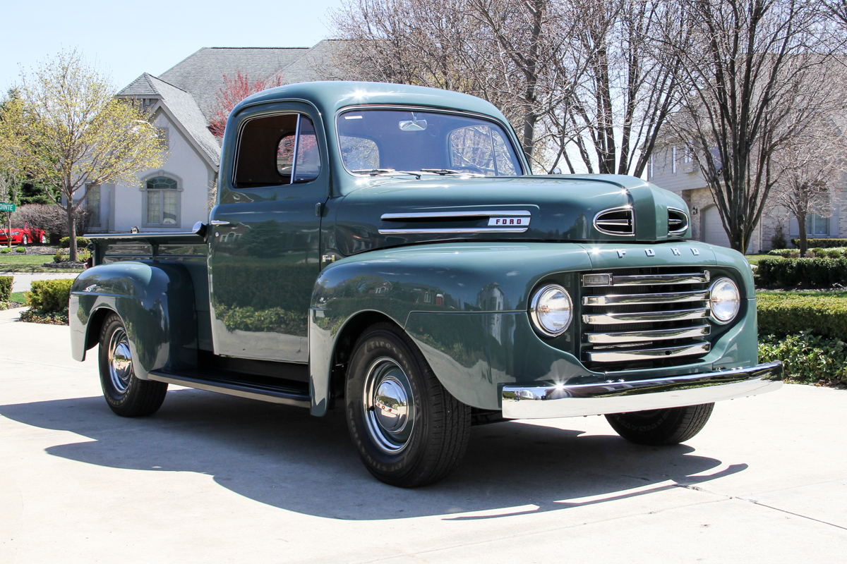 1948 Ford F1 Classic Cars For Sale Michigan Muscle Old Pickup Hot Rod