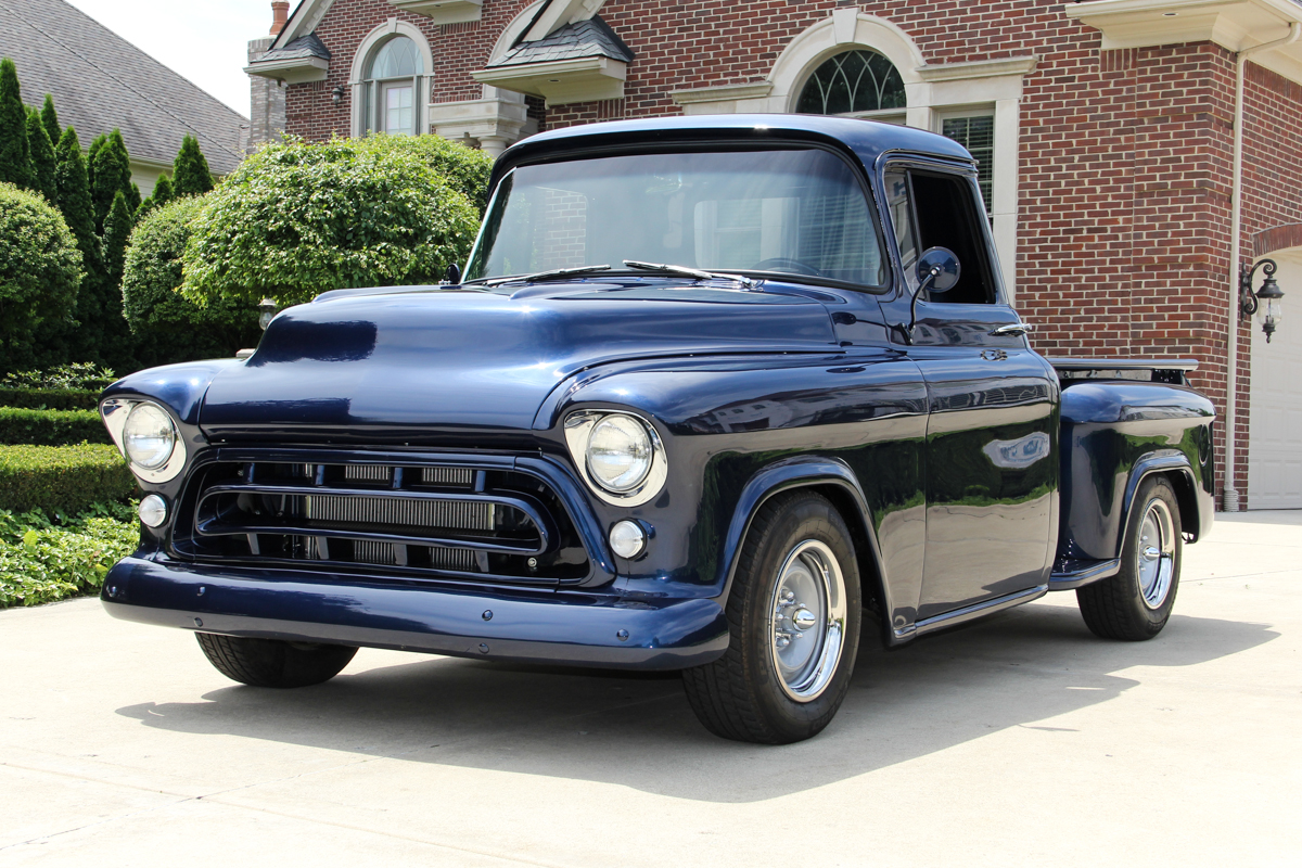 1957 Chevrolet 3100 Classic Cars For Sale Michigan Muscle Old Chevy Truck Paint Colors