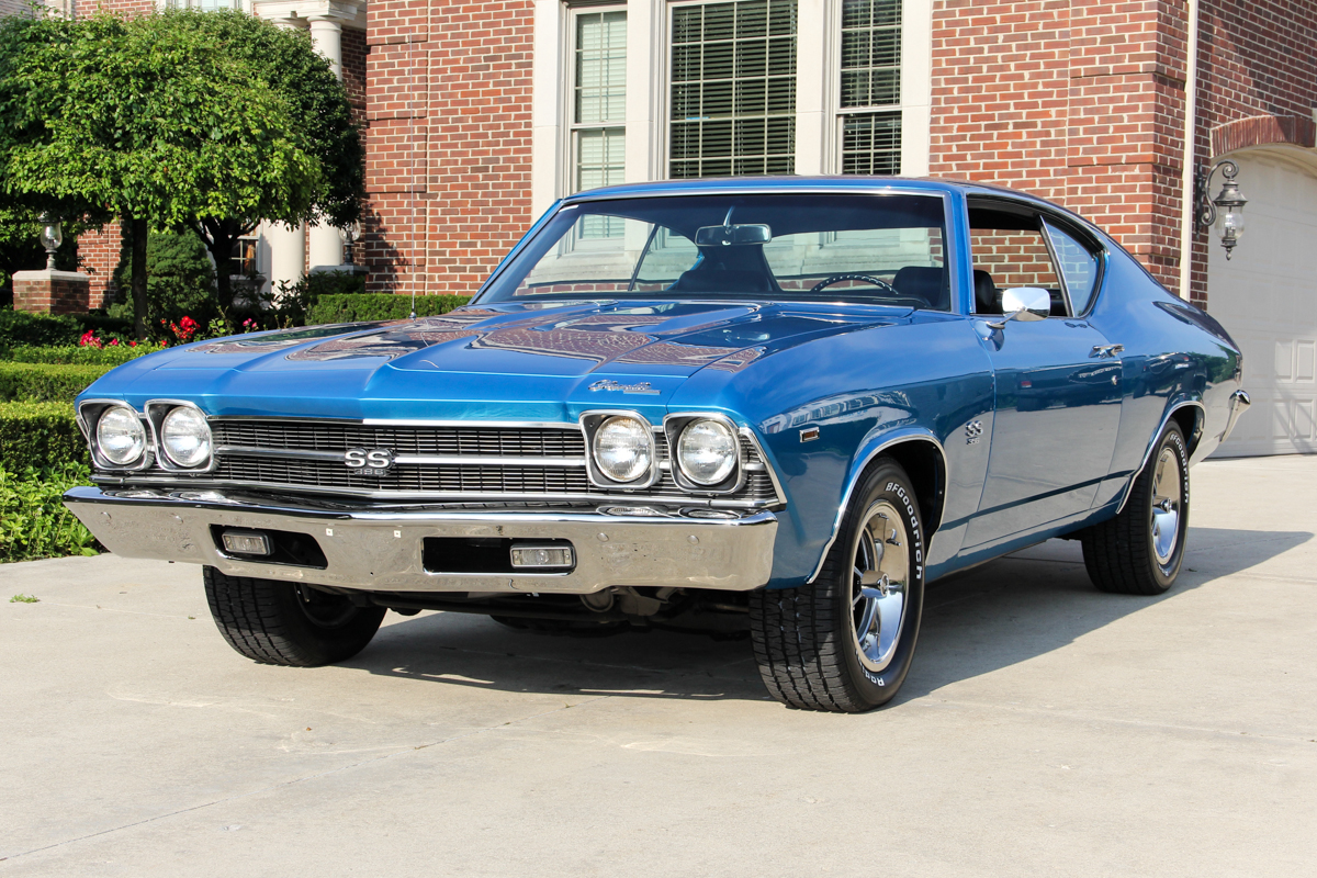 1969 Chevrolet Chevelle Classic Cars For Sale Michigan Muscle Alternator Wiring 226792 Blue 795524