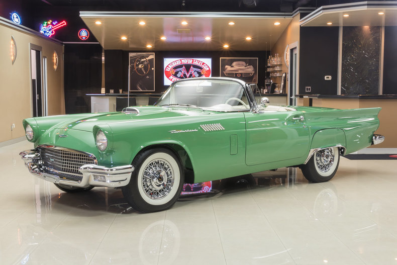 1957 ford thunderbird my classic garage 1957 1957 ford thunderbird for sale publicscrutiny Images
