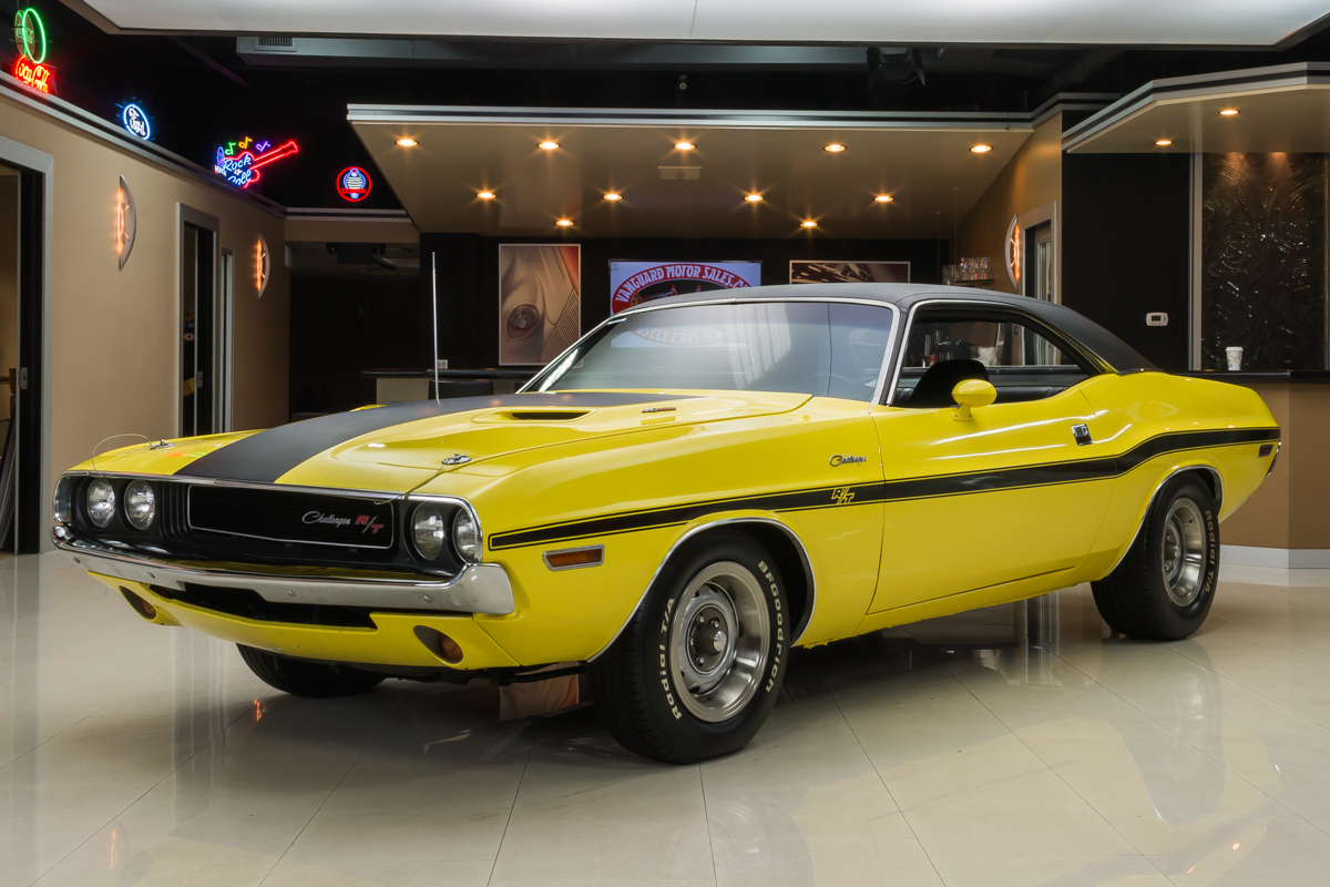 284072  1970 challenger  yellow 7306 rs1