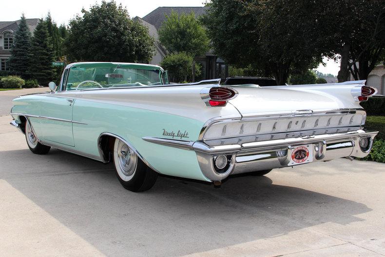 1959 Oldsmobile 98 Vanguard Motor Sales