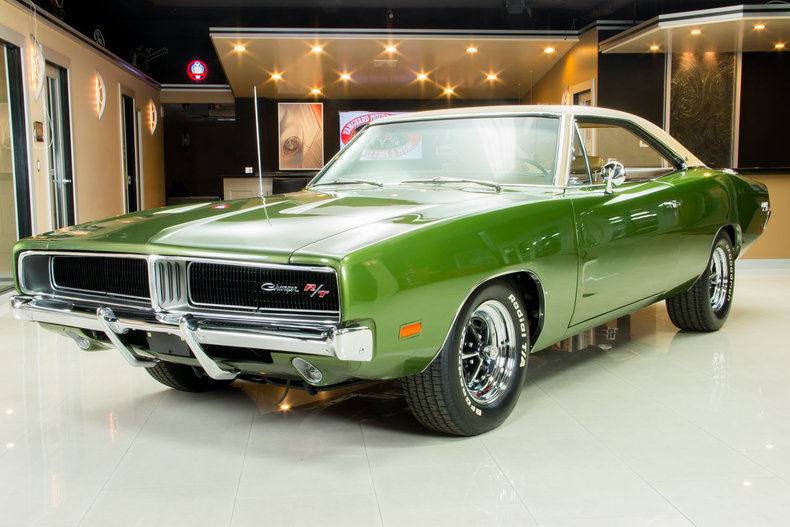 1969 Dodge Charger My Classic Garage