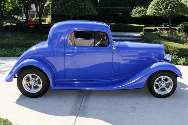 1934 Chevrolet 3 Window Coupe Vanguard Motor Sales