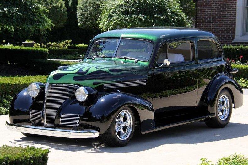 1939 Chevrolet Sedan   Vanguard Motor Sales