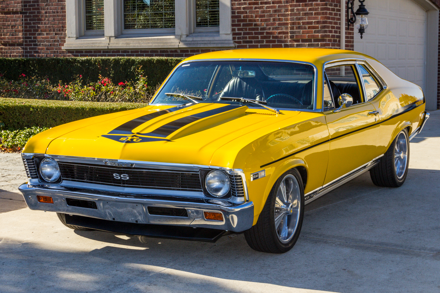 1968 Chevrolet Nova Classic Cars For Sale Michigan Muscle Old Chevy Ss