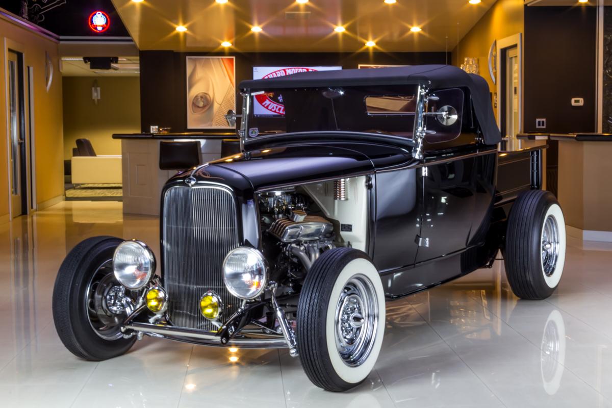 275225 1931 ford pick up  black  0944125