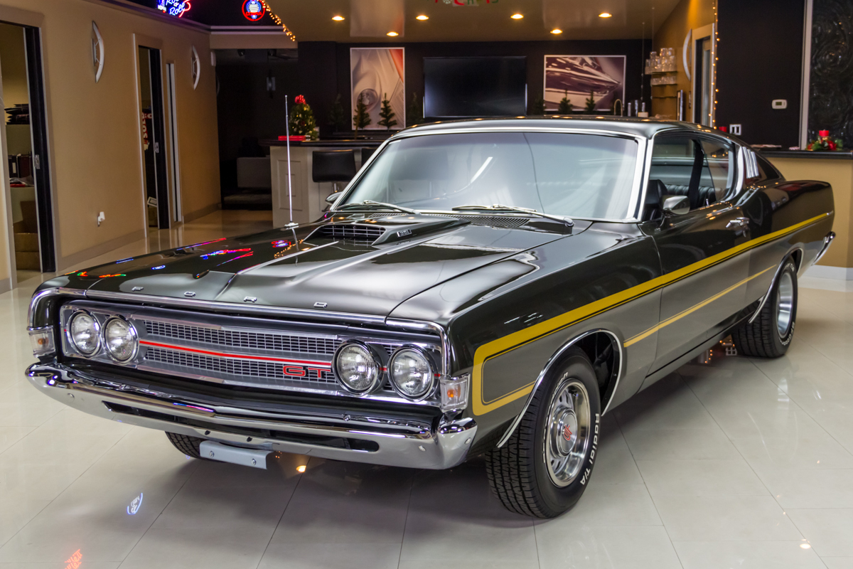 1969 Ford Torino Classic Cars For Sale Michigan Muscle Old Fairlane