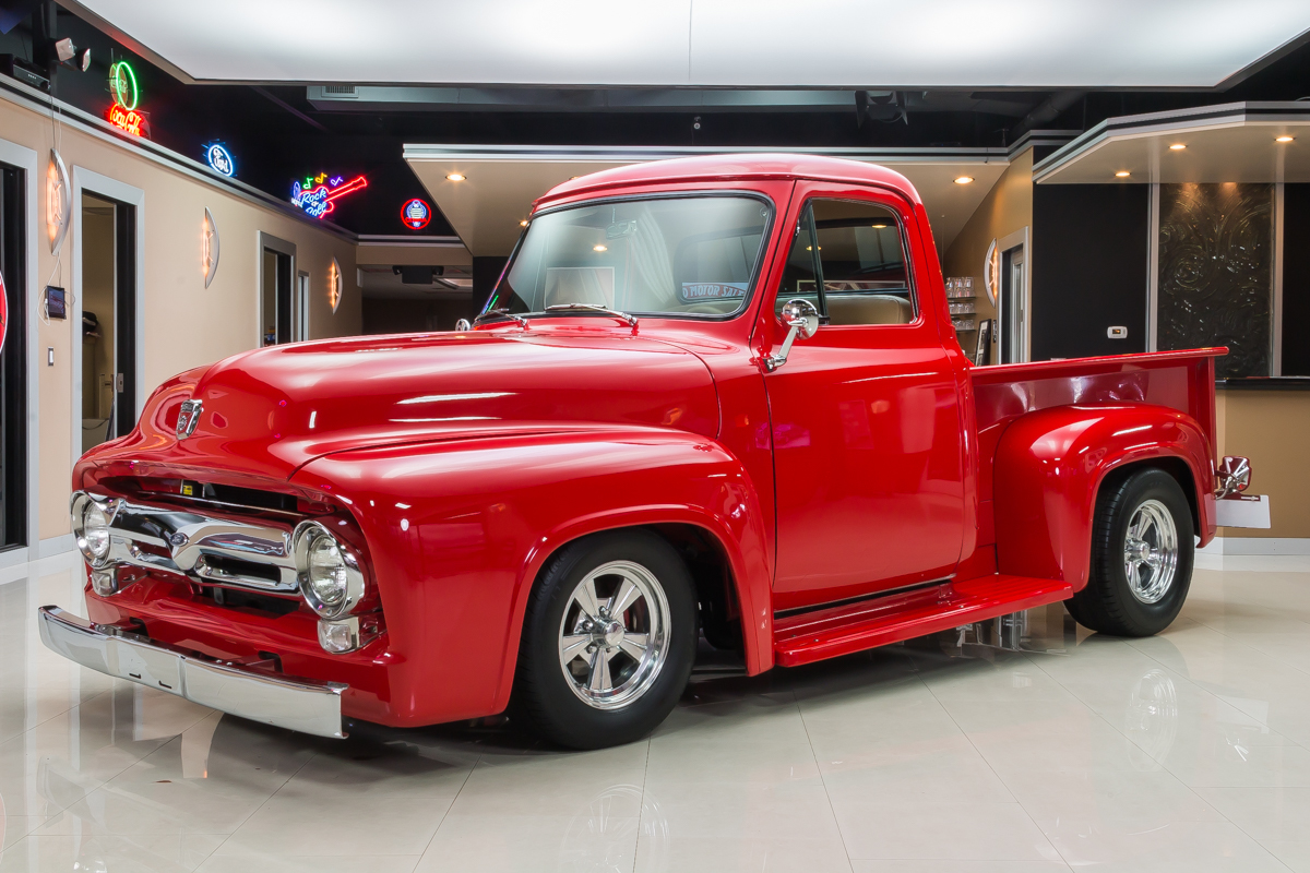 1955 Ford F100 Classic Cars For Sale Michigan Muscle Old Pickup Truck