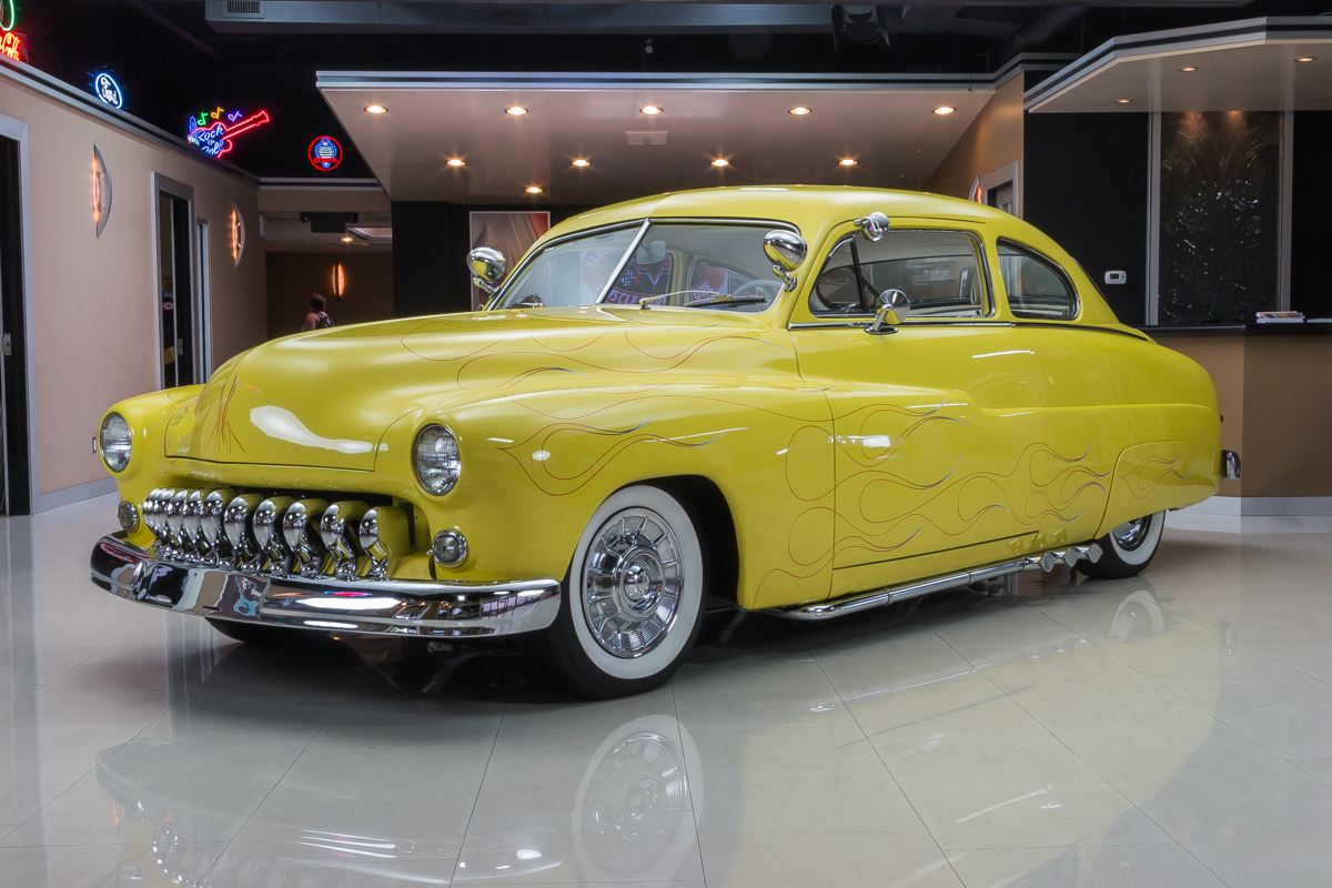 300985 1949 merc lead sled  yellow 7508  rs1