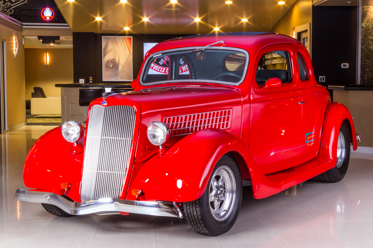 272520 1935 ford coupe  red  41874