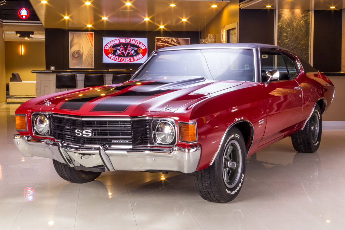 272742 1972 chevelle  red  31567