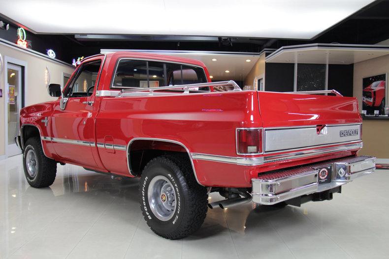 1985 chevrolet silverado 4x4 pickup for sale 49469 mcg for Vanguard motor sales inventory