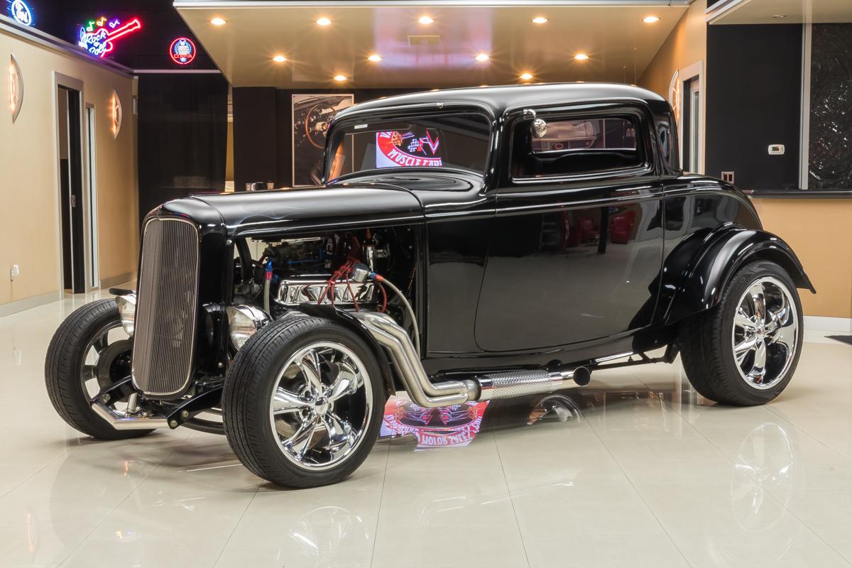 410707 508d8d28524d1932 ford coupe  black 19321