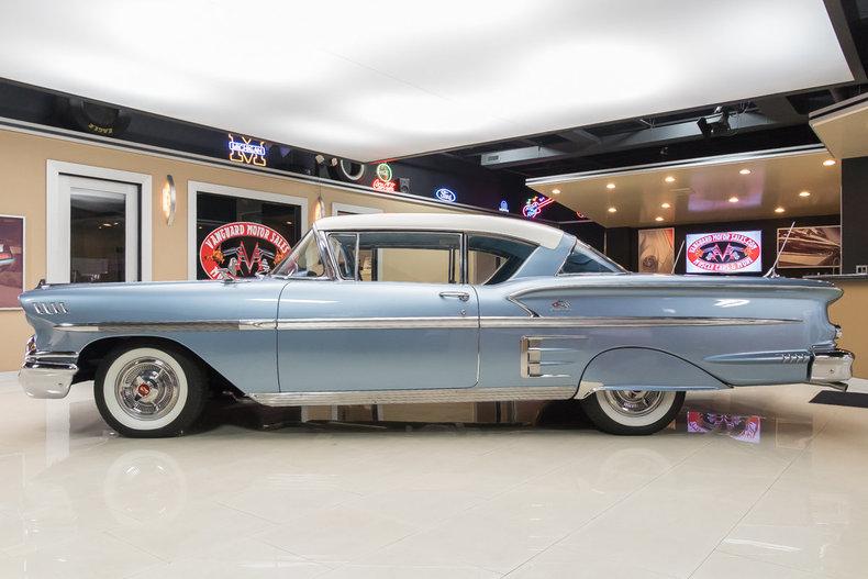 1958 Chevrolet Impala Vanguard Motor Sales