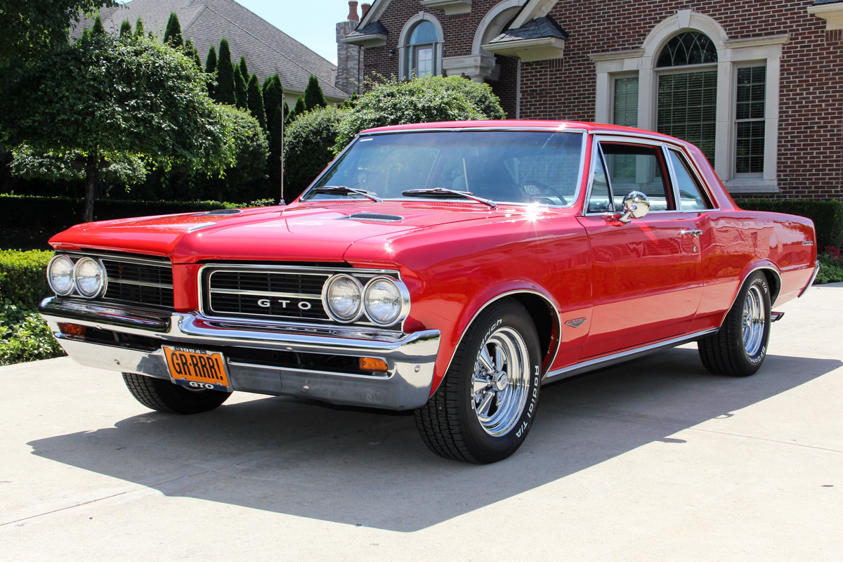 230269 1964 gto tribute lemans  red 52912