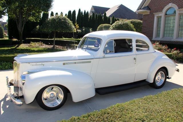 1941 Packard 120 Business Coupe Vanguard Motor Sales
