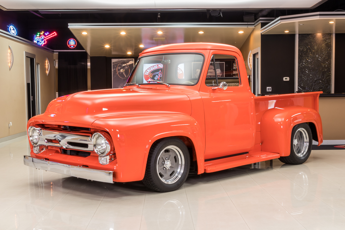 1954 ford f100 pickup for sale 49428 mcg for Garage ford orange