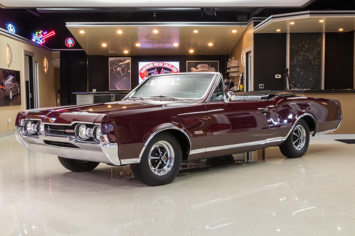 452745 6de223908cfa67 oldsmobile 442 convertable maroon 10771