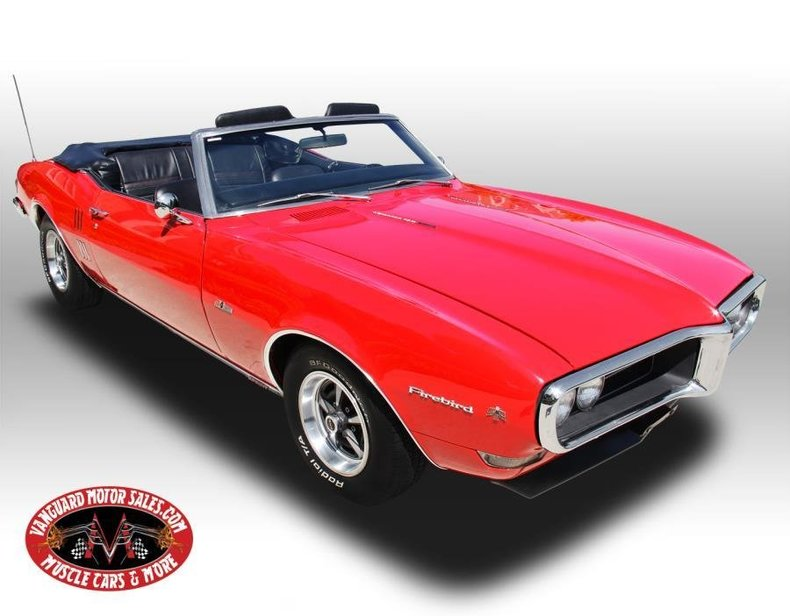 1968 Pontiac Firebird | Vanguard Motor Sales