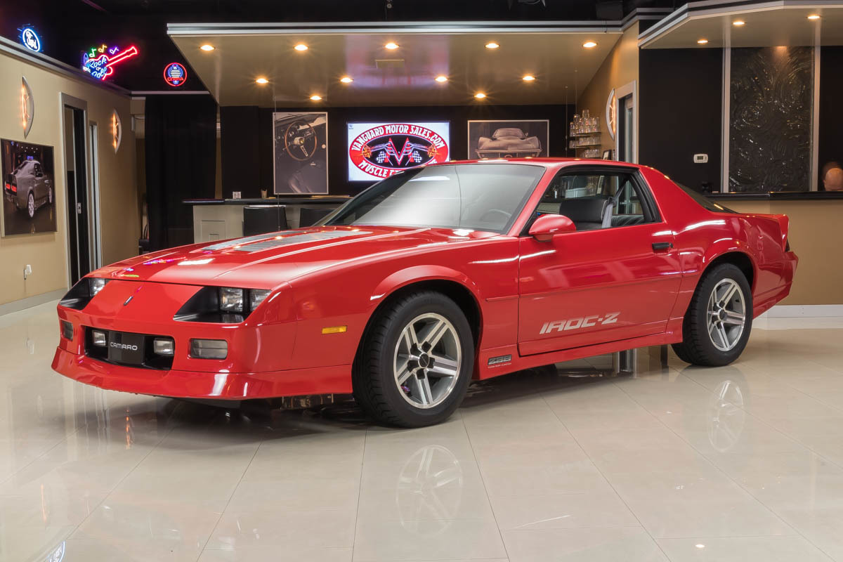 1987 Chevrolet Camaro Classic Cars For Sale Michigan Muscle Old 1968 Symbol