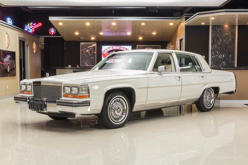 1987 Cadillac Fleetwood | Vanguard Motor Sales