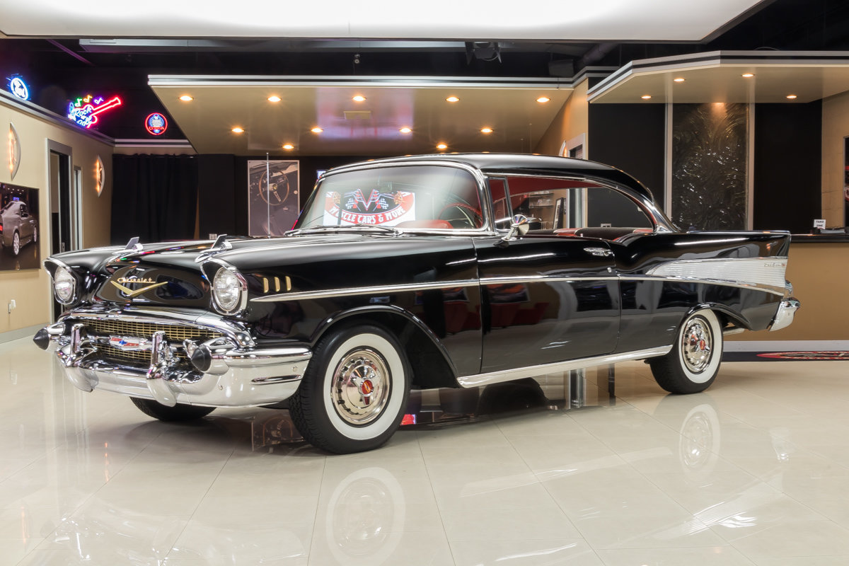 1957 Chevrolet Bel Air Classic Cars For Sale Michigan Muscle Chevy Front Suspension